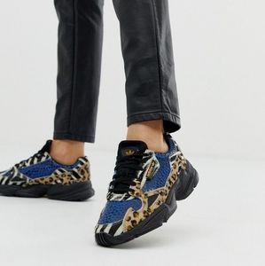Adidas Women's 'Falcon' Leopard Sneakers